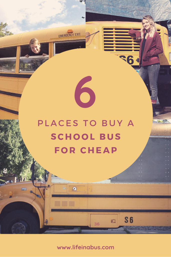 6 places to buy a school bus for cheap   Life in a Bus